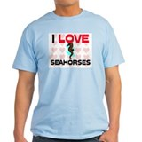 I Love Seahorses T-Shirt