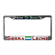 How Di Bodi? - License Plate Frame
