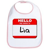Hello my name is Lia Bib