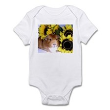 Sunflowers Pig! Infant Bodysuit