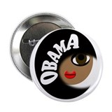 "Obama Buff 2.25"" Button"