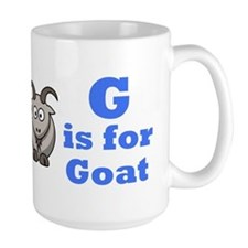 G is for Goat Blue - Mug