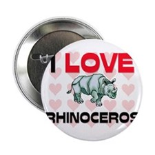 "I Love Rhinoceros 2.25"" Button"