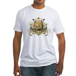 Stylish Om Fitted T-Shirt