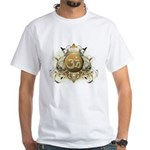 Stylish Om White T-Shirt