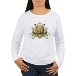 Stylish Om Women's Long Sleeve T-Shirt