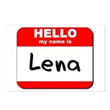 Hello my name is Lena Postcards (Package of 8)
