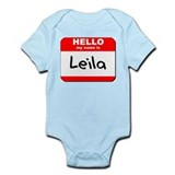 Hello my name is Leila Onesie