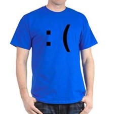 Sad Face Emoticon T-Shirt