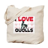 I Love Quolls Tote Bag
