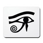 Eye of Horus Hieroglyphic Mousepad