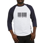 Type Setter Bar Code Baseball Jersey