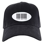 Type Setter Bar Code Black Cap