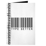 Type Setter Bar Code Journal