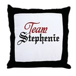 Team Stephenie Throw Pillow
