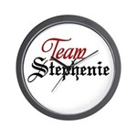 Team Stephenie Wall Clock