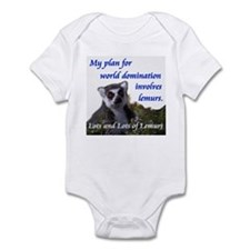 Domination Lemurs Infant Bodysuit