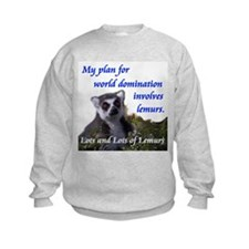Domination Lemurs Sweatshirt