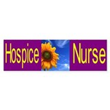 Hospice Nurse Bumper Car Sticker