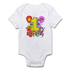 BIRTHDAY 1 Infant Bodysuit