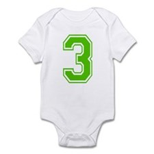 THREE Infant Bodysuit