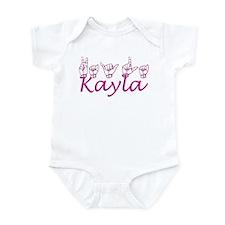 Kayla Infant Bodysuit