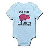 Palin: It's What's For Dinner Onesie