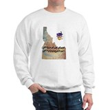 Idaho map Sweatshirt