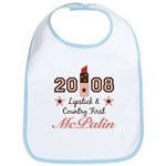 Lipstick Country First McPalin Bib