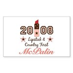 Lipstick Country First McPalin Sticker 10 Pack