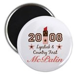"Lipstick Country First McPalin 2.25"" Magnet 1"