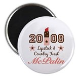 Lipstick Country First McPalin Magnet