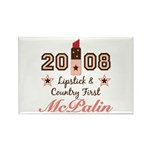 Lipstick Country First McPalin Magnet 10 Pack