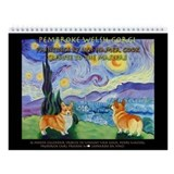 Pembroke Welsh Corgi Wall Calendar