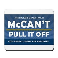 John McCain and Sarah Palin McCan't Pull It Off Mo