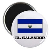 "El Salvador Flag 2.25"" Magnet (10 pack)"