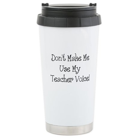 Teacher Voice Travel Mug
