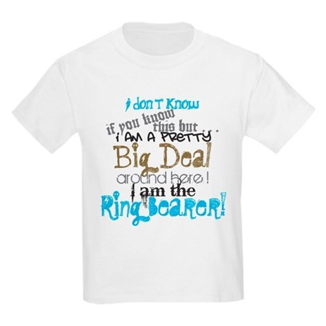 Big Deal Ring Bearer Kids Light T-Shirt