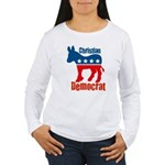 Christian Democrat Women's Long Sleeve T-Shirt