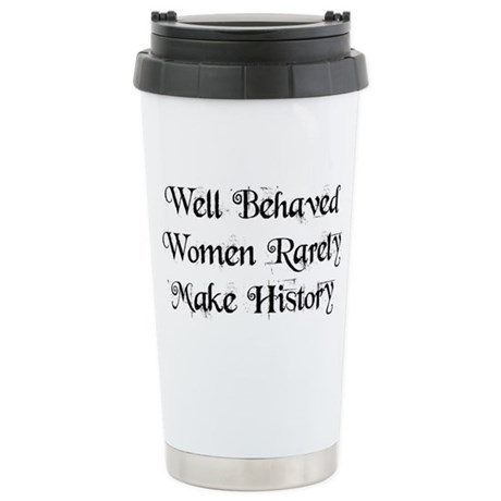 Well Behaved Ceramic Travel Mug