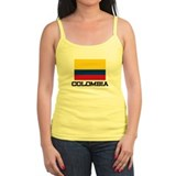 Colombia Flag Jr.Spaghetti Strap