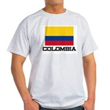 Colombia Flag T-Shirt