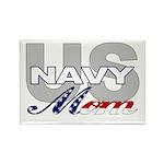 US NAVY Mom Rectangle Magnet (100 pack)