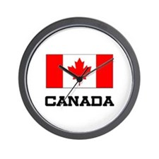 Canada Flag Wall Clock