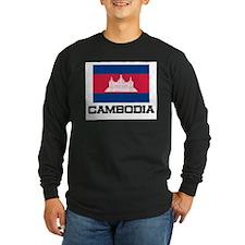 Cambodia Flag T