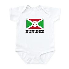 Burundi Flag Infant Bodysuit
