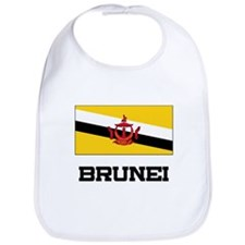 Brunei Flag Bib
