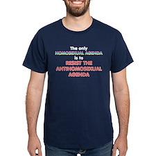 Real Homosexual Agenda T-Shirt