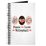 Peace Love Volleyball Journal