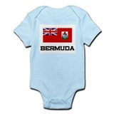 Bermuda Flag Infant Bodysuit